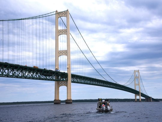 The U.S. Coast Guard is looking for volunteers to help assess environmental and navigation hazards in the Straits of Mackinac, the channel that links Lakes Huron and Michigan.