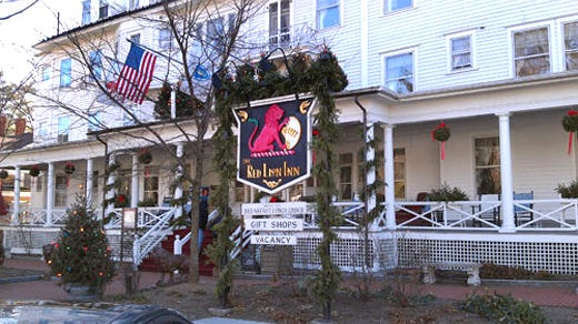 the red lion inn in Stockbridge, mass.DAILY RECORD/SUNDAY NEWS - JIM MCCLURE