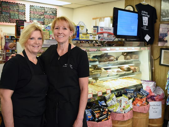 Kathy Wilkes Paré and Chris Havlicek, owners of Wilkes