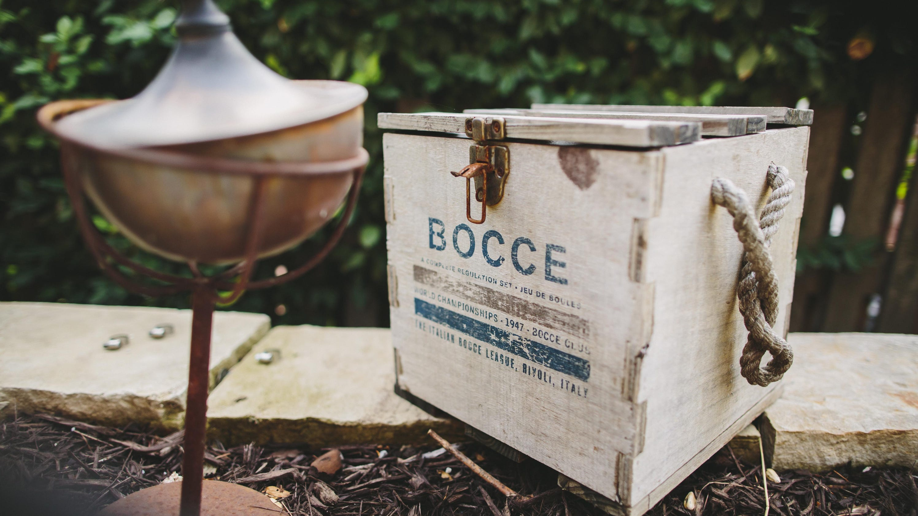 diy project build your own bocce ball court