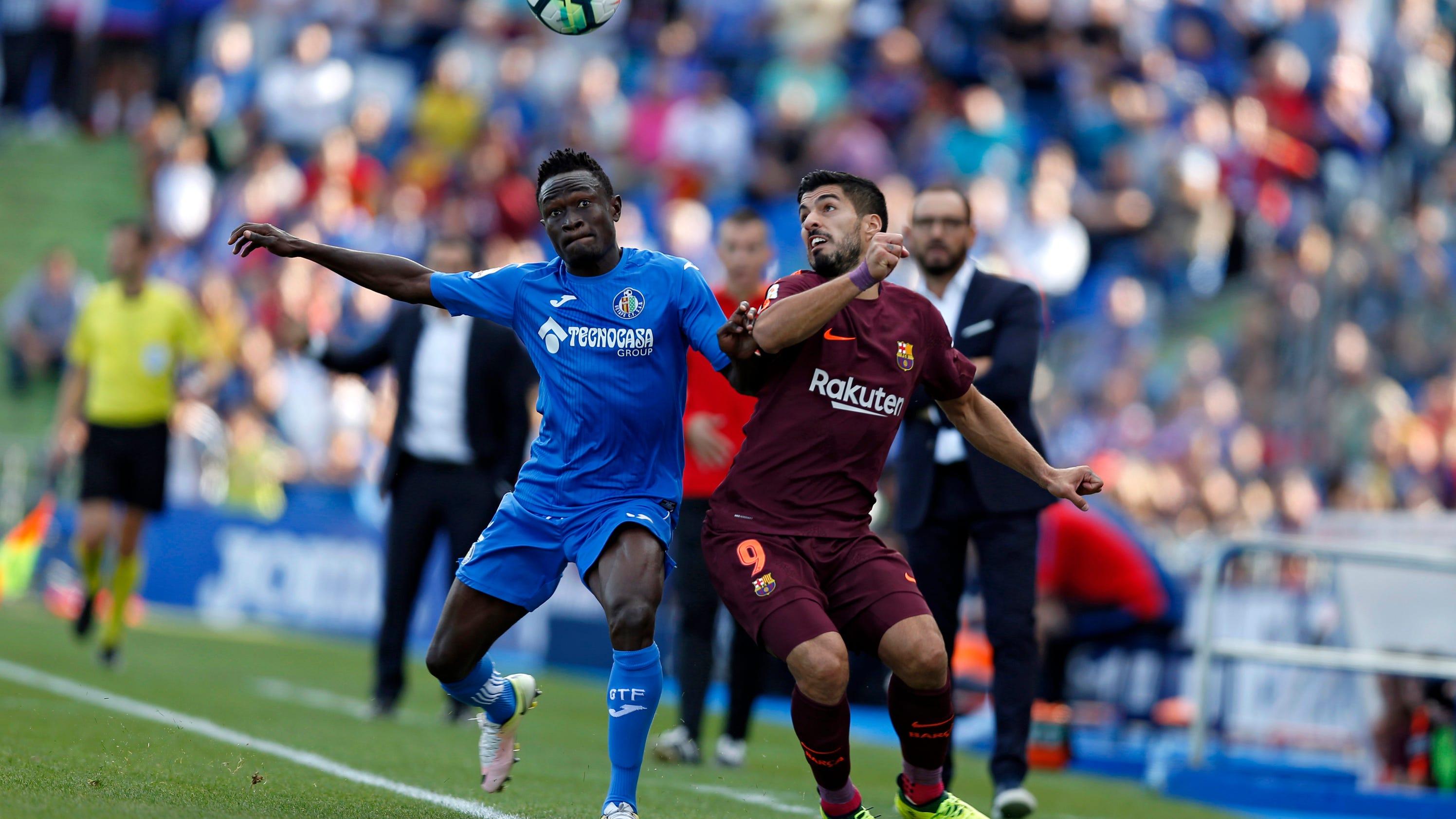 Late paulinho goal keeps barcelona perfect in spain - Firefly barcelona ...