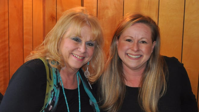 Owner of Elementally Green Patsy Kleck and her daughter Natalie Carr.