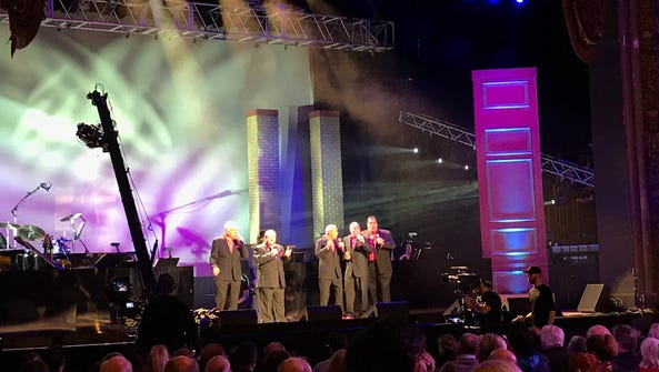 Doo-wop on stage at the Paramount Theatre in Asbury