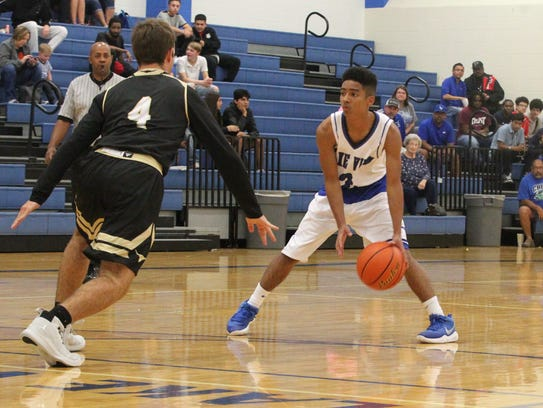 Lake View junior Dylan Hart was an honorable-mention selection to the District 4-5A all-district boys basketball team for the 2017-18 season.