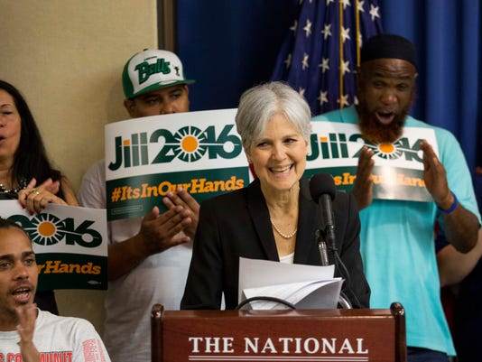 Green Party Candidate Jill Stein Announces Her Presidential Run