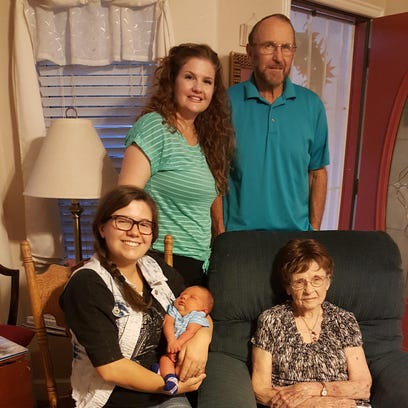 Five generations for Sept. 24