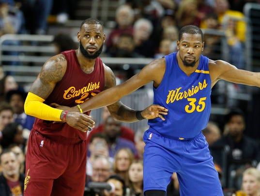USP NBA: GOLDEN STATE WARRIORS AT CLEVELAND CAVALI S BKN USA OH