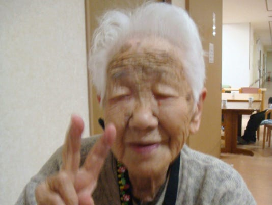 AP JAPAN OLDEST PERSON DIES I JPN
