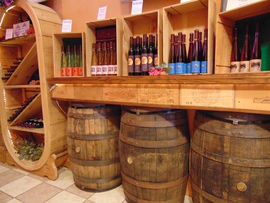 Trout Springs Winery , Greenleaf