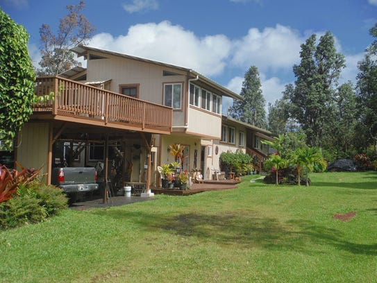Phil and Lunel Haysmer's home in Pahoa, Hawaii was