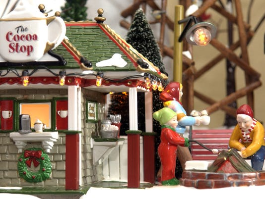 Christmas village open house 3