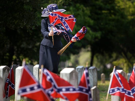 AP APTOPIX CONFEDERATE MEMORIAL DAY A FEA USA SC