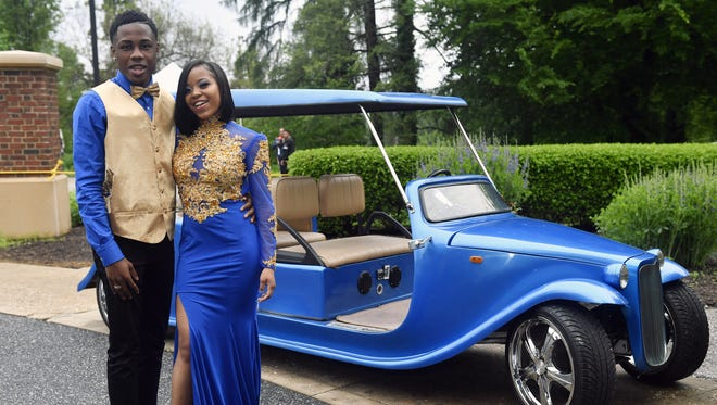 Students and their guests attend York High's prom at Box Hill Mansion at Regents' Glen Country Club Saturday, May 19, 2018, in Spring Garden Township.
