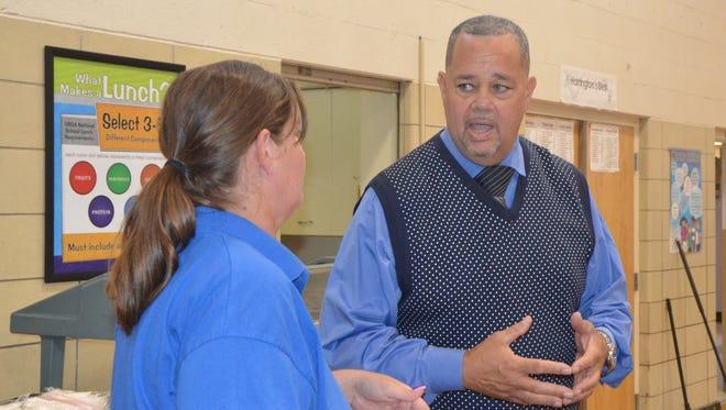 Robert Giles is the new principal of Harrington Elementary School in Albion.