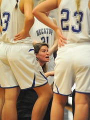 Stephen Decatur's Head Coach Kate Coates talks to her