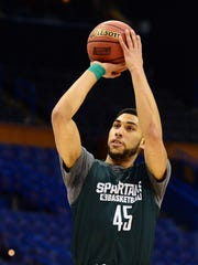 Denzel Valentine was so consumed by playing in the NCAA tournament that he couldn't sleep in the days leading up to it. Now he can't escape it.