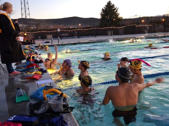 sparks swim team to raise money to build new indoor pool