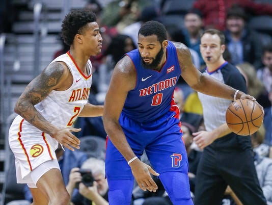 Detroit Pistons at Atlanta Hawks