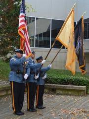 Stockton University Police and Stockton K-9 units presented
