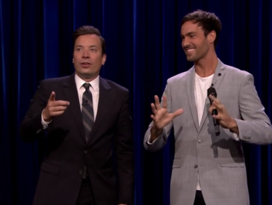 """Jeff Dye has performed several times on """"The Tonight"""