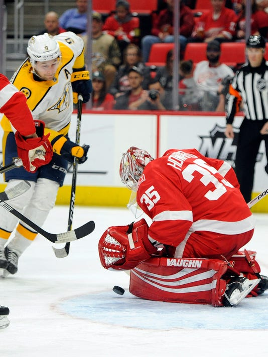 Jimmy Howard, Filip Forsberg