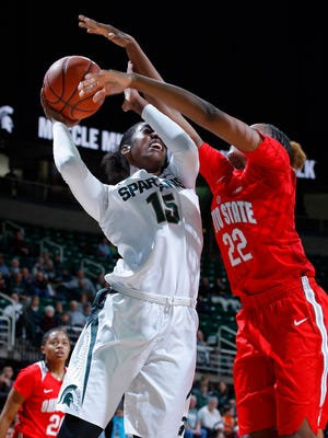 Victoria Gaines' versatility has made her one of the most valuable components of the MSU women's basketball team in the season's early stages.