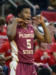 Florida State guard Malik Beasley, shown here, along