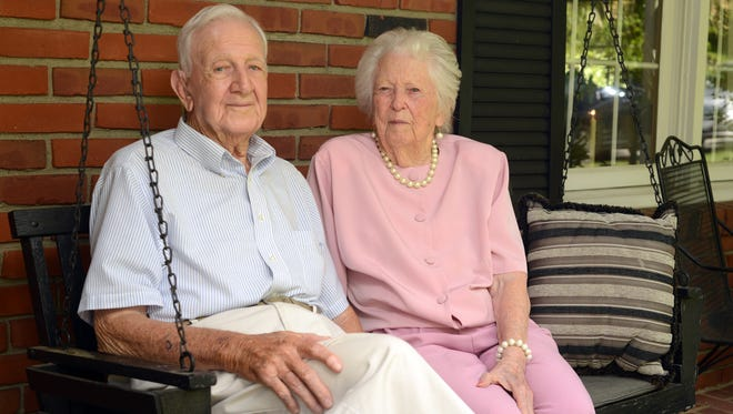 Harry and Della Ricketts will be celebrating their 75th wedding anniversary May 31. The couple met at a one room school house near Sugar Grove in the first grade.