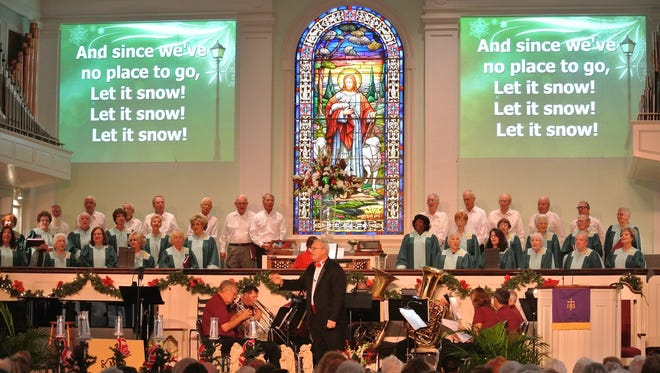 The 26th annual Christmas Carol Sing is Dec. 6 at First Presbyterian Church in Fort Myers. There will be three performances (1 p.m., 4 p.m. and 7 p.m.). People who attend are being asked to bring two non-perishable food items for The Soup Kitchen and cash donations are welcome if you are able.