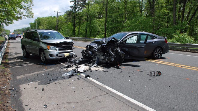 James J. Stanley faced charges after a three-car crash in Manchester on May 23, 2018.