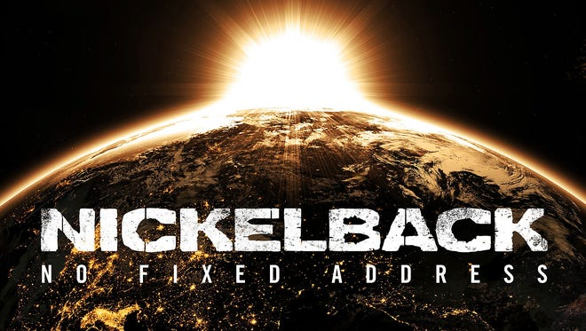 Nickelback's new album 'No Fixed Address' is out Monday.