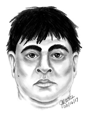 Mesa police released a composite sketch of a man suspected of attacking a woman at a city park.