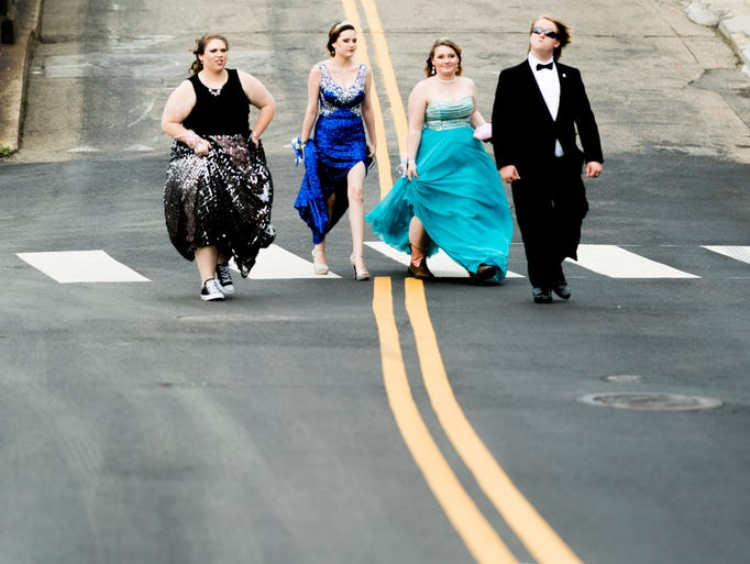Scenes from the Carter High School prom at The Standard