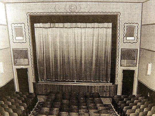 Like other theaters of the time, the Morgan Theater