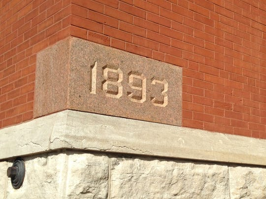 The oldest part of Central High School, where there once was a tower, was built in 1893.