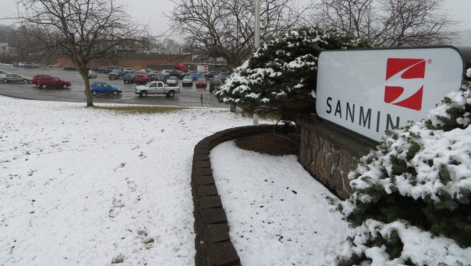 Though manufacturing employment has stabilized in Binghamton and Elmira, upcoming layoffs at the Sanmina plant could begin another downward trend.
