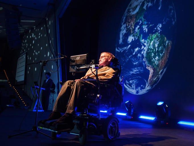 British theoretical physicist professor Stephen Hawking