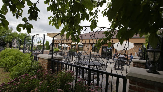 The Source Public House had a popular outdoor dining deck.