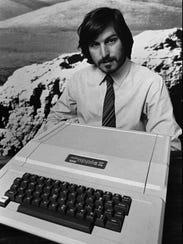 Apple Computer Inc. co-founder Steve Jobs introduces