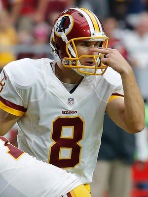 Redskins quarterback Kirk Cousins.