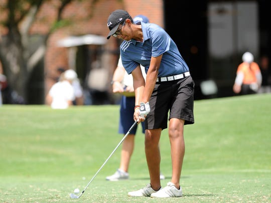 Wylie golfer Phillip Hurtado, seen playing in last summer's AJGA Folds of Honor Junior Championship hosted by Bob Estes at the Abilene Country Club, will continue his sports at the collegiate level.