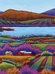 Vermont History Expo's signature artwork was provided by Daryl Storrs of Huntington.