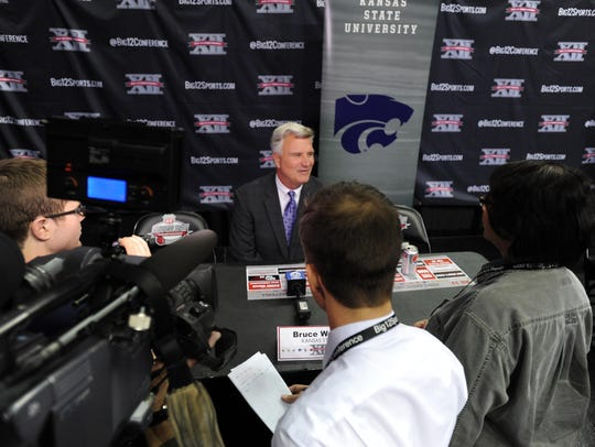 Kansas State Wildcats coach Bruce Weber will bring his team to Fort Myers in 2019.