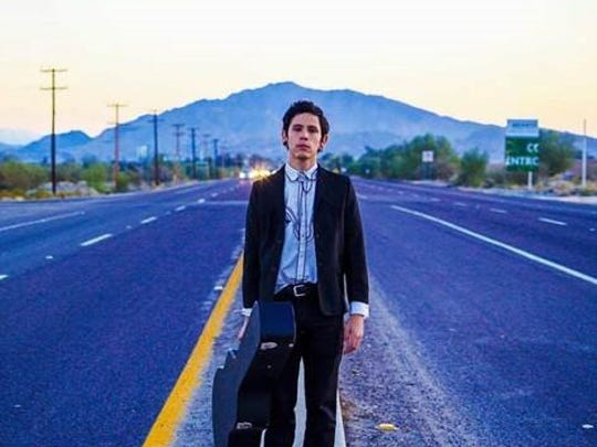 Victor Bosc, a one-man band from El Centro, will perform second at the Tachevah Music Showcase Thursday at Pappy and Harriet's.