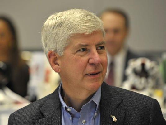 chris ilitch Mayor Duggan Gov Snyder