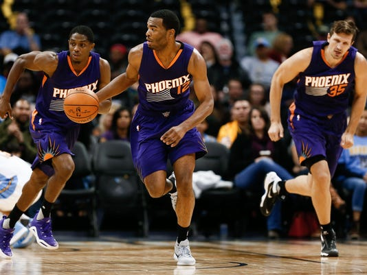 NBA: Preseason-Phoenix Suns at Denver Nuggets
