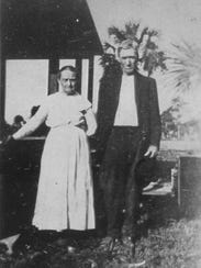 Angeline and John Henry Howard were the first members