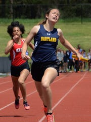 Michelle Moraitis set three Hartland records this spring.