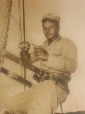 Braxton Daniels Sr. served in the United States Marine Corps. during the Korean War.