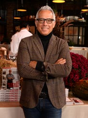 """Celebrity chef Geoffrey Zakarian is a regular judge on Food Network's """"Chopped"""" competition."""
